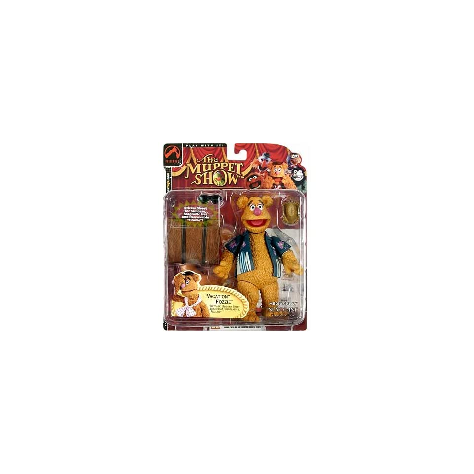 Muppet Show Series 2  Vacation Fozzie Bear Action Figure