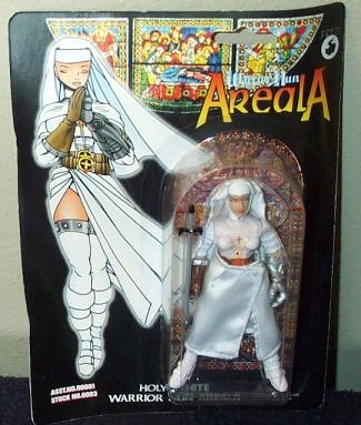 Warrior Nun Areala Holy White Action Figure