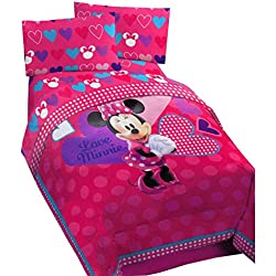 Disney Minnie Exploded Hearts Comforter
