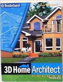 3d Home Architect Deluxe Version 3 0 Broderbund Amazon