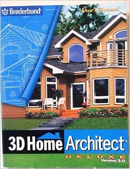 3d Home Architect Deluxe Version 3 0 Broderbund Books