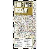 Streetwise Tuscany Map - Laminated Road Map of Tuscany, Italy - Folding pocket size travel map