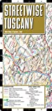 Streetwise Tuscany Map - Laminated Road Map of Tuscany, Italy - Folding pocket size travel map