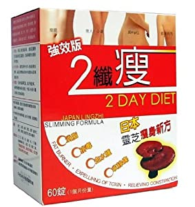 2 Day Diet Pills Slimming Formula from Lingzhi