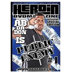 Heroin dvd special edition a.b da don edition public enemy #1