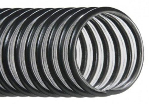 "Hi-Tech Duravent Eh-L Light-Duty Series Pvc Vacuum Duct Hose, Clear, 4"" Id, 4-1/2"" Od, 25' Length front-618436"