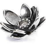 Trollbeads Damen-Anhänger Gigantischer Lotus 925 Silber - 12917