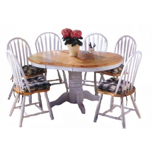 Dining Room Furniture Target Marketing Systems 7 Piece Farmhouse