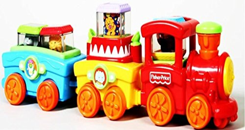 Fisher-Price Peek-a-Blocks Press & Go Train - 1
