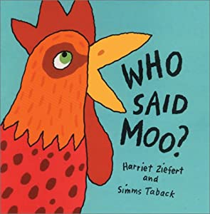 "Cover of ""Who Said Moo?"""