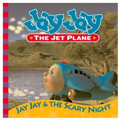 Amazon.com: Jay Jay and the Scary Night Story Book (Jay Jay the Jet