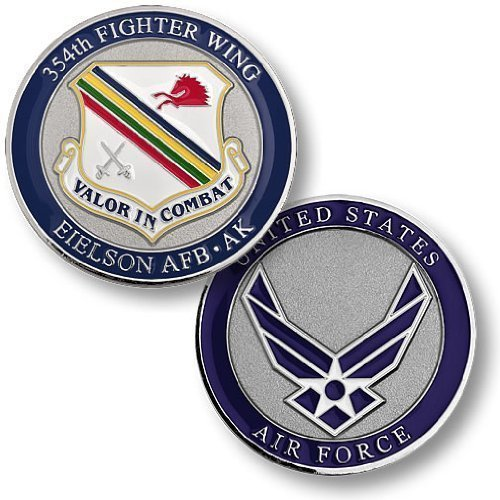 354th Fighter Wing, Eielson Air Force Base, AK Challenge Coin