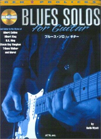 Solo de blues pour guitare (avec CD)