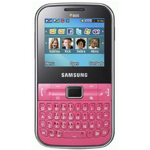 Samsung Ch@t 322 C3222 Unlocked Dual-Sim Phone