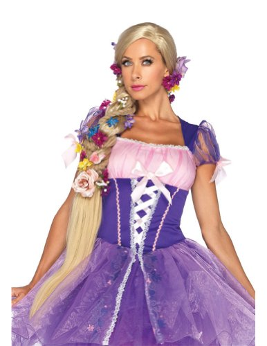 Rapunzel Adult Costume Wig Blonde Costume Accessory
