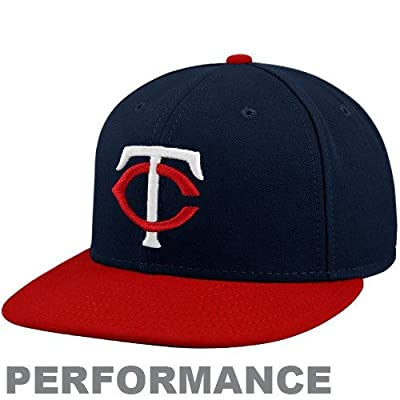Minnesota Twins Authentic Road Performance 59Fifty On-Field Cap