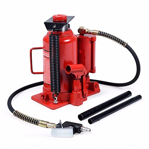 Goplus® 20 Ton Hydraulic Low Profile Heavy Duty Bottle Jack Lifts Hoist (20 Ton Air Jack compare prices)