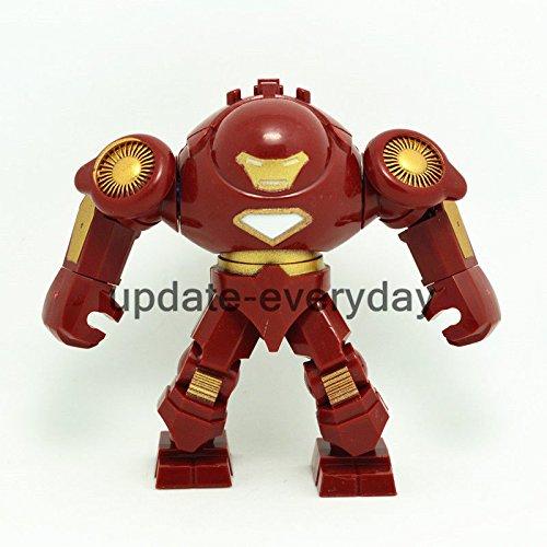 New Mini figure Hulkbuster Iron Man Red Superhero Building Block Toy 3