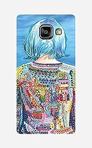 ZAPCASE Printed Back Case for Samsung galaxy A5 2016 edition