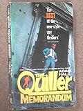 The Quiller Memorandum (0006114423) by Hall, Adam