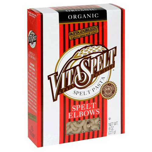 Buy VitaSpelt Organic White Spelt Elbows, 8-Ounce Boxes (Pack of 12) (Vitaspelt, Health & Personal Care, Products, Food & Snacks, Pasta & Grains, Noodles & Pasta, Italian Pasta)