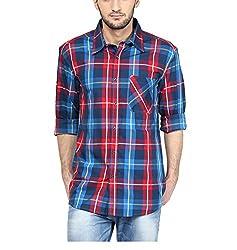 Yepme Men's Multi-Coloured Cotton Shirts - YPMSHRT1137_36