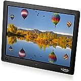 Xoro DPF 10A1 Digitaler Bilderrahmen (25,4 cm (10 Zoll) LED-Display, SD/SDHC/MMC, USB 2.0, 8GB Speicher, Diashow, Video-Wiedergabe, integrierter MP3-Player, Bewegungssensor, Fernbedienung) schwarz
