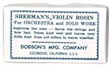 Shermans VP-01D Violin Rosin