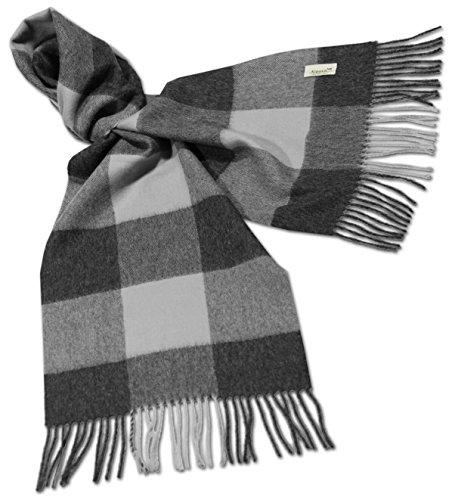 alpacafab-100-baby-alpaca-scarf-midol-checkered-unisex-71-x-12-in-grey