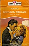 Lovers in the Afternoon (0263108082) by Mortimer, Carole