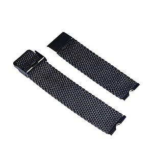 Jiam 22 mm de acero inoxidable Sólido Replacement Uhrenarmband Correa De Reloj Pulsera Watch Band correa de acero Venda De Reloj para el Motorola Moto 360 SmartWatch + Herramienta de Jiam