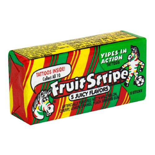fruity strips gum