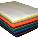"9"" X 12"" Assorted Pack Acrylic Craft Felt Sheets"