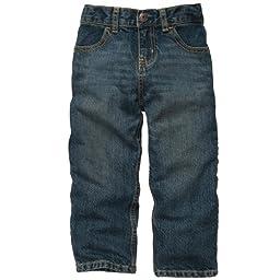OshKosh B\'Gosh Baby Boys Jeans (6M-24M) (18 Months, Tumbled Medium Faded)