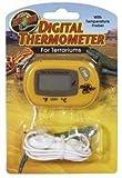 Zoo Med Digital Terrarium Thermometer, digital room thermometer, Terrarium Digital Thermometer