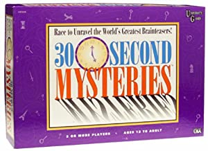 30 Second Mysteries Board Game