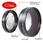 Neewer 0.45X 52Mm Wide Angle Lens Wit...
