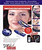 Good Ideas Electric Tweezers with Rotating Head, Hair Removal (1106) Includes Manicure & Make-Up Set. Ideal Gift