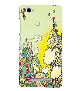 PRINTVISA Abstract Art Case Cover for Xiaomi Mi4i