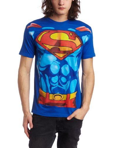 Bioworld Men's Superman Muscle Costume Tee Discount