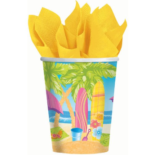 Surf's Up 9 oz. Cups (8 count)