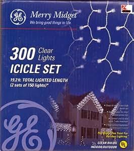 ge merry midget icicle 300 christmas light. Black Bedroom Furniture Sets. Home Design Ideas