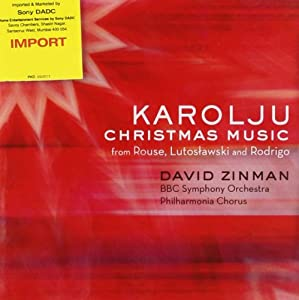 Karolju: Christmas Music From Rouse Lutoslawski