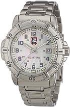 Luminox Colormark 7050 Series Ladies Bracelet Watch, Mother of Pearl/Grey, 38mm
