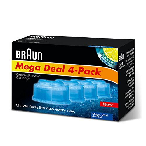 Braun CCR2 Cleaner Refill Kit (4 pack) (Braun 7790 compare prices)