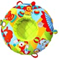 Musical Discovery Baby playring With Pump Gym Toys Inflatable Playnest Play Ring