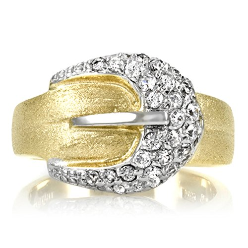 madges-gold-plated-pave-cz-buckle-ring-final-sale