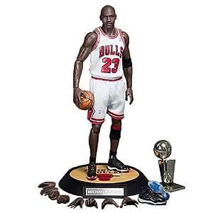 Enterbay #23 Home Uniform Version Michael Jordan Real Masterpiece Action Figure