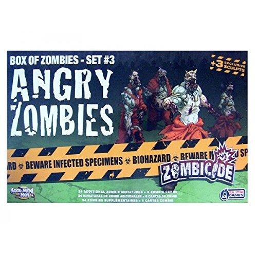 Zombie Action Figures Big Bucket Of 100 Zombie