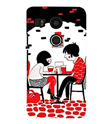 FUSON 3D Designer Back Case Cover for NEXUS5X D10045
